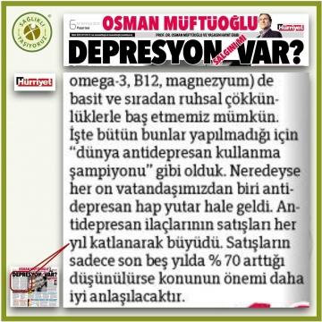 Depresyon Salgını mı var ?.